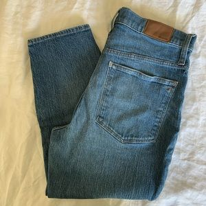 Madewell classic straight jeans 30P